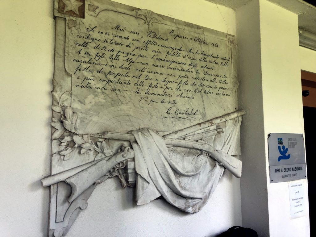 Internationales Schiessen Bozza ISISC in Tirano, Italien